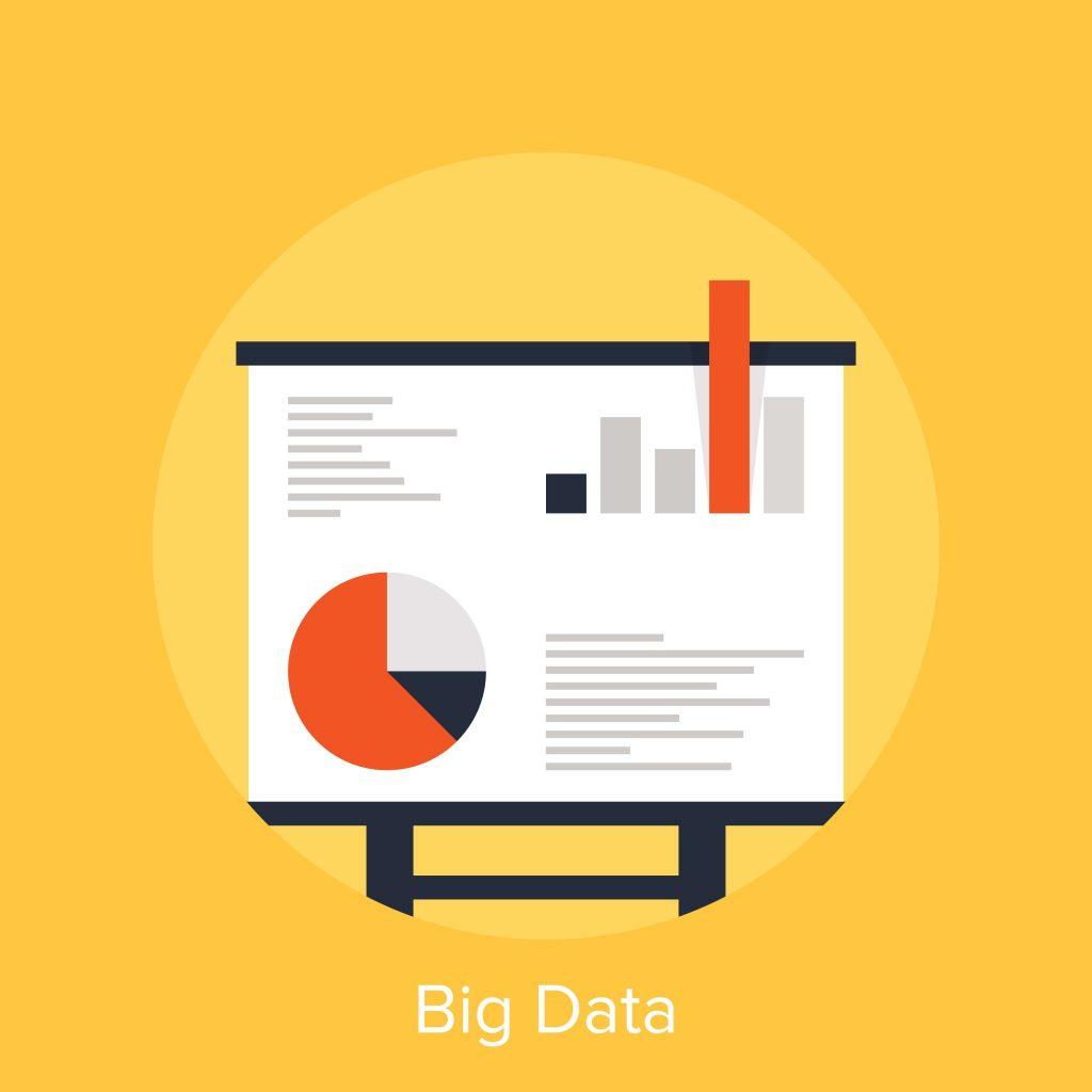 ilustração de big data