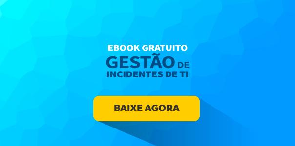banner de ebook gratuito com o título de guia definitivo de gestão de incidentes de TI
