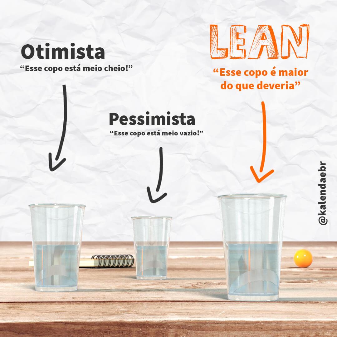 3 copos pela metade em cima de uma mesa de madeira