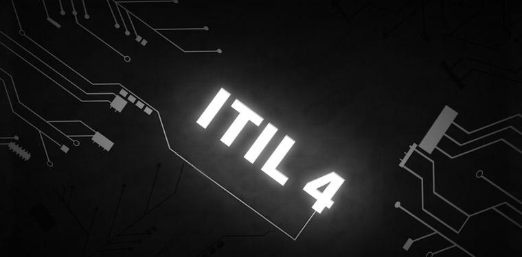 """Ligações de conexões ligando o nome """"ITIL 4"""""""